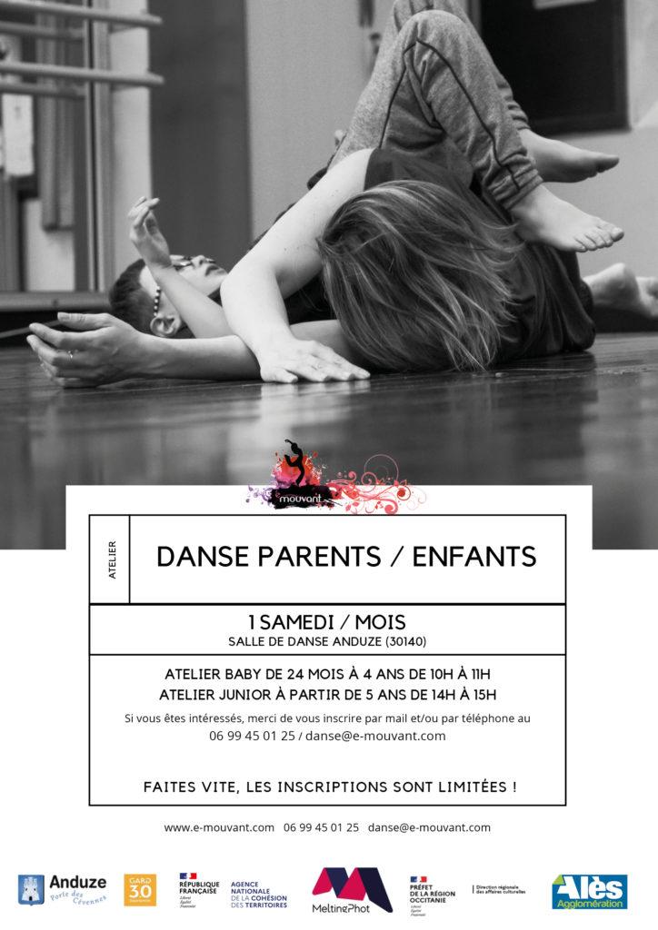 Ateliers danse Parents Enfants à Anduze