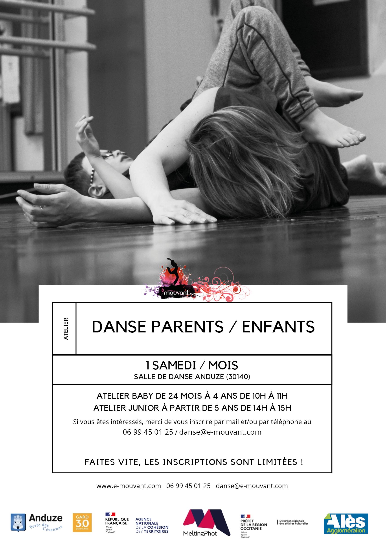Ateliers DANSE Parents/Enfants